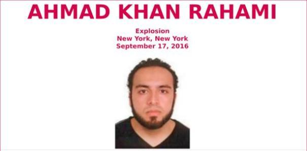 ahmad Foto   Identifican a sospechoso de explosión en NY
