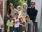 brad pitt y sus hijos Brad Pitt, investigado por maltrato a sus hijos
