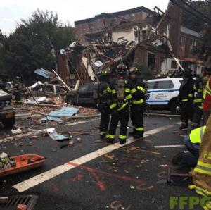 bronx Explosión en el Bronx.Múltiples heridos