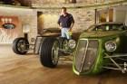 chip foose Conductor programa Overhaulin viene a RD para exhibición de autos clásicos