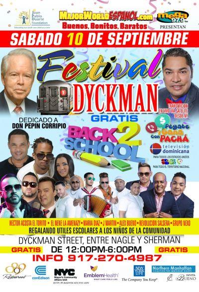 Sabado en NY: El Gran Festival de Dyckman