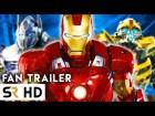 vengadores vs transformers Video   Vengadores vs Transformers (fan made)