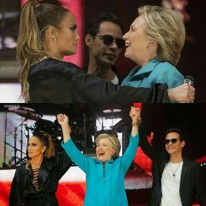 14482918 1085630658222518 2820027629078315008 n JLo y el flaco apoyando a Hillary