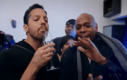 david blaine Video   Ilusionista sorprende a Steph Curry y a Drake