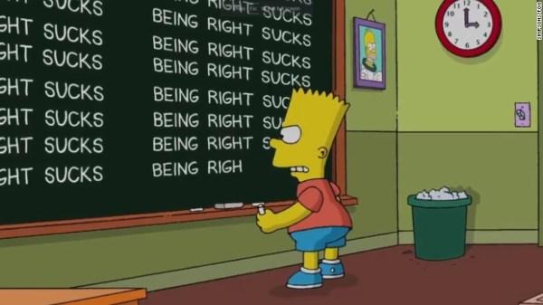 los simpson Los Simpson responden a la predicción de la victoria Trump
