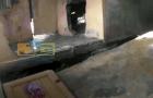 moca4 En sector de Moca siguen colapsando viviendas