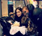 amelia vega Amelia Vega y Al Horfod presentan a su bebé