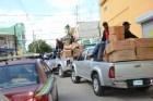 cargamento Decomisan cargamento fuegos artificiales en la Capital