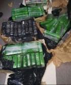 dncd DNCD ocupa otros 108 paquetes de drogas en Barahona