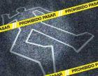 escena piso suicidio policia linea Mujer de 67 años se quita la vida de un balazo en Santiago