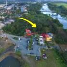 casa de sergio vargas 2 Video   La mega casa de Sergio Vargas llega hasta el río