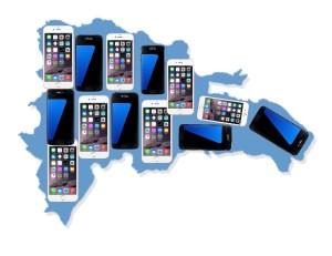 mapa 89 de cada 100 hogares dominicanos poseen un celular