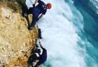 mar caribe malecon Rescatan hombre cayó al mar Caribe en el Malecón