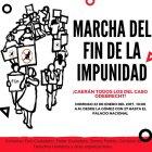 marcha Harán ''Marcha del Fin de la Impunidad''