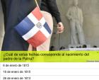 prueba duarte Prueba: ¿Qué tanto sabes sobre Juan Pablo Duarte?