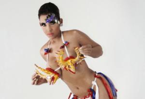 ana carolina #TBT   Presentadora Ana Carolina en Carnaval