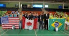 badminton1 RD: Quinto lugar en Panamericano de Bádminton