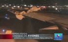 choque Aviones chocones en aeropuerto de Phoenix