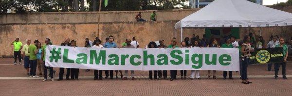 """marcha del fin de la impunidad La """"Marcha del Fin de la Impunidad"""" haciendo efecto"""