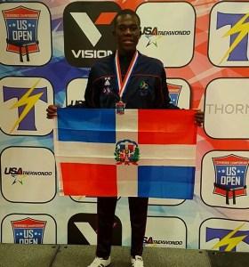 pie l Wepa! Dominicana obtiene plata en USA Open de Taekwondo