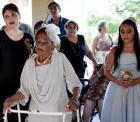 valdemira rodrigues de oliveira Doñita de 106 años, se casa con su jevito de 66