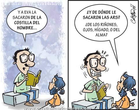 """caricatura1 Caricatura – """"Creación de las ARS"""""""