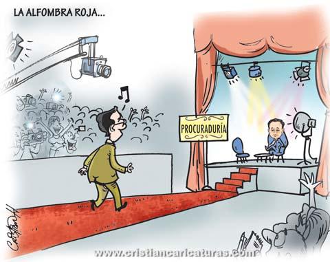"caricatura9 Caricatura – ""La alfombra roja"""