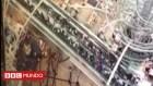 hong kong Escalera eléctrica se vuelve loca; 18 heridos (video)