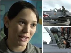 piloto dominicana Dominicana es una dura en aviones de combate