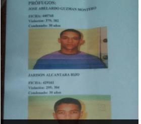 rafey Se escapan dos presos condenados a 30 años de cárcel de Rafey