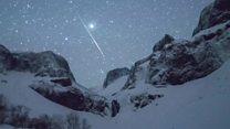 china Así fue el impresionante aguacero de meteoros en China