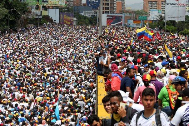 fotos dd FOTOS: Intensas protestas se vivieron en Venezuela