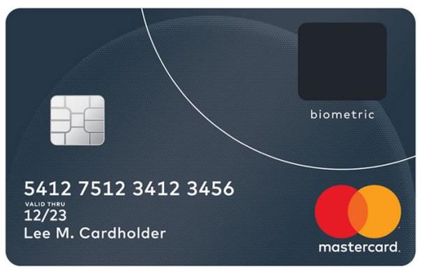 mastercard lector La primera tarjeta de crédito con lector de huellas