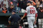 matt barnes Pitcher de Boston suspendido por pelotazo a Manny Machado
