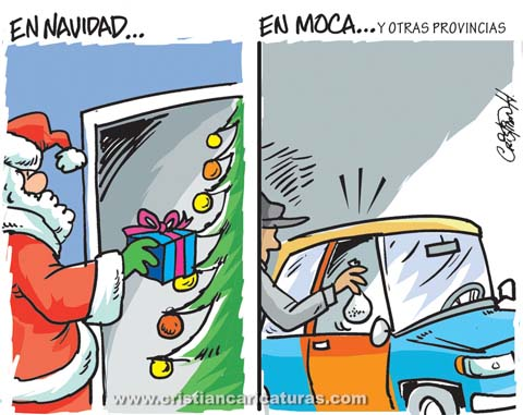 caricatura droga moca Caricatura: Poniéndole una cosiiita...