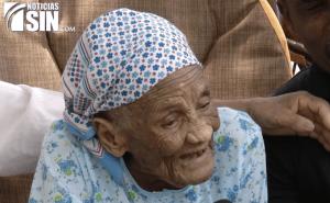 la victoria Doñita dominicana (127 años): 'El secreto de una larga vida'