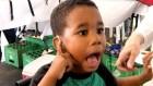 nino sordo Reacciones de niños dominicanos escuchando por primera vez