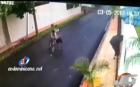 santiago1 Video capta al ''Ladrón de la Bicicleta'' en acción