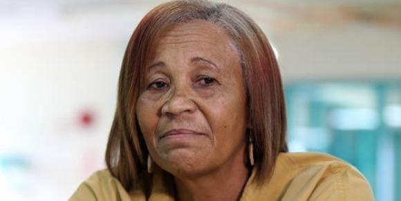 Aida de los Santos, acusada de matar a la esposa de un exjuez en PR.Foto via Primera Hora
