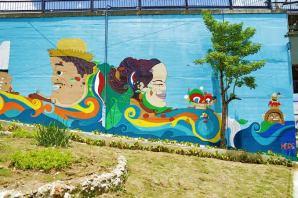 unnamed1 Mural:Homenaje a Ramón Matías Mella en Zona Colonial
