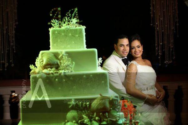 boda en punta cana ariel