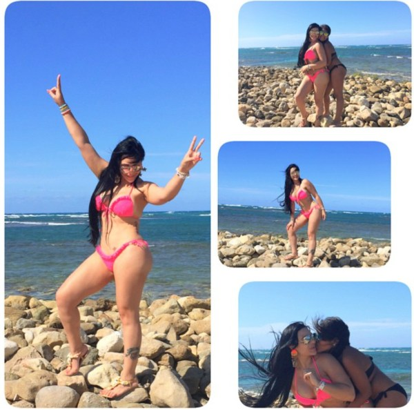 screen shot 2015 04 03 at 10 37 15 pm copy Fotos: Figuras populares dominicanas bikiniando en Semana Santa