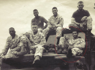 Veterano Dominicano, Argenys Vargas en Irak 2006