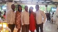 mi padre el Lic. Jose Ml. Hernandez junto a sus hijos.