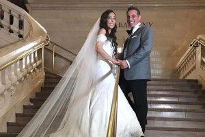 Gelena Solano 300x200 Reportera dominicana y su vestido de novia de 33 mil dólares