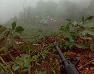 Venezuela 300x238 Encuentran el helicóptero del lío de ayer en Venezuela
