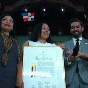 dom 300x300 Wepa! Dan reconocimiento a dominicana que fue aceptada en 11 escuelas de medicina en EEUU