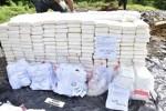 drogas 150x100 Achicharran una tonelada y pico de drogas