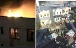 fuego3 150x95 Criollos resultan afectados por incendio en El Bronx
