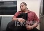 manigueta 150x106 Video   Tipo dándose manigueta en Metro de México